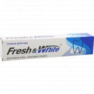 Зубная паста «Fresh&White» тройное действие, 135 г.