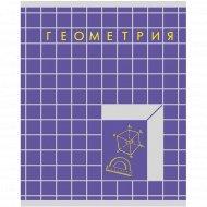 Тетрадь предметная «Геометрия» 48 листов.