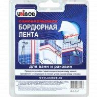 Лента-бордюр «Unibob» для раковин и ванн, 20 ммх20 ммх3.35 м, белая.