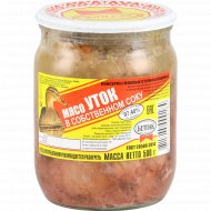 Мясо уток «Бетпак» в собственном соку, 500 г.