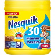 Какао-напиток «Nesquik» -30% сахара, 420 г.