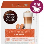 Кофе «Nescafe Dolce Gusto Latte Macciato» Caramel, 16 капсул, 145.6 г.
