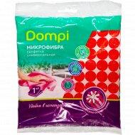 Салфетка из микрофибры «Dompi» универсальная, 30 х 30 см, 1 шт