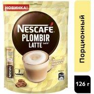 Кофейный напиток, растворимый «Nescafe Latte» пломбир, 7x18г.