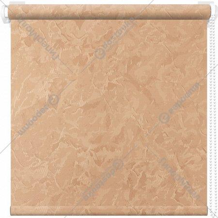 Рулонная штора «АС Март» Крисп, шафран, 61х175 см