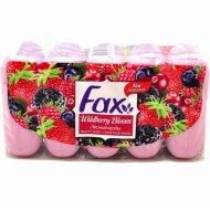 Туалетное мыло «Fax» Лесные ягоды, 5х70 г