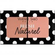 Румяна «Vivienne Sabo» Naturel, 02 персиковый, 6 г.