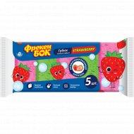 Губки кухонные «Strawberry» тройной эффект, 5 шт.