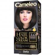 Стойкая крем-краска для волос «Cameleo» темно-коричневый, тон 3.0.
