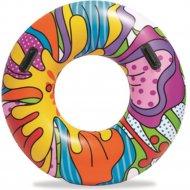 Круг для плавания детский «Поп-арт» 119 см.