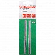 Ножи для рубанка «Hammer Flex» 209-102 PB 102*5,5*1,1 102мм, 2шт.