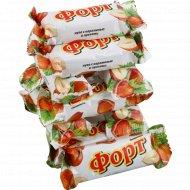 Конфеты «Петровский форт» нуга с карамелью и орехом, 1 кг., фасовка 0.35-0.45 кг