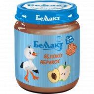 Пюре «Беллакт» яблоко-абрикос, 100 г