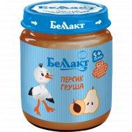 Пюре «Беллакт» персик, груша, 100 г