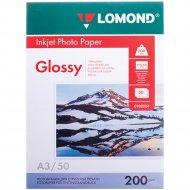 Фотобумага «Lomond» для струйной печати А3, 0102024, 50 листов.