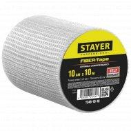 Лента серпянка «Stayer» самоклеющаяся, 100 ммх10 м.