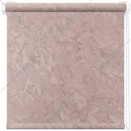 Рулонная штора «АС Март» Крисп, пудровый, 110х175 см