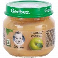 Фруктовое пюре «Gerber» из яблок, 80 г.