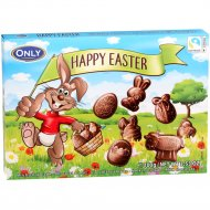 Молочный шоколад «Happy easter» фигурный, 100 г