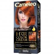 Крем-краска стойкая для волос «Cameleo» рыжий, тон 7.44.