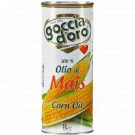 Масло кукурузное «GoggiaD`oro» рафинированное, 1 л.