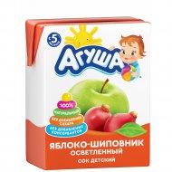 Сок «Агуша» яблоко-шиповник, 200 мл