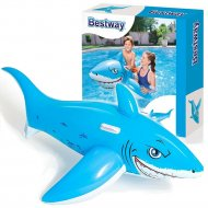 Игрушка надувная для плавания детская «Акула» 183х102 см.