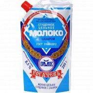 Молоко цельное сгущённое «Рогачёвъ» с сахаром, 8.5%, 280 г.