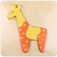Пазл-картинка «Жирафик».