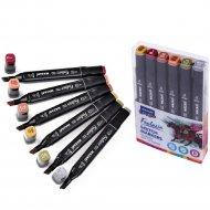 Набор маркеров для скетчинга «Fantasia Wood» colors 6 цветов.