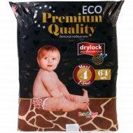 Подгузники «Еco» Premium Quality, 7-18 кг., 4 размер, 64 шт.