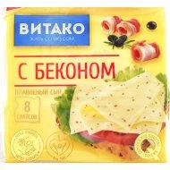 Сыр плавленый «Витако» с беконом, 45%, 130 г