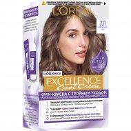 Краска для волос «L'Oreal Paris» Excelence Creme, 7.11