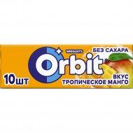 Жевательная резинка «Orbit» тропическое манго, 13.6 г