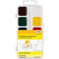 Краски акварельные «Юный художник» 10 цветов.