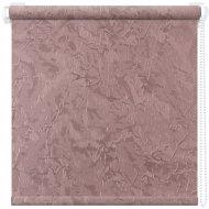 Рулонная штора «АС Март» Крисп, пыльная роза, 85х175 см