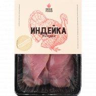 Полуфабрикат из мяса птицы «Филе индейки большое» охлажденный, 1 кг., фасовка 1.3-1.6 кг