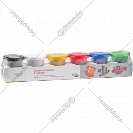 Набор для детского творчества «Тесто-пластилин» 6 цветов, 300 г