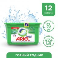 Капсулы для стирки «Ariel» Все в 1 PODs, Горный родник, 12 шт