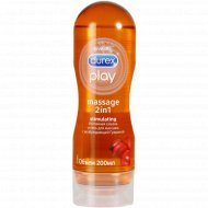Гель-лубрикант «Durex» Play Massage 2 в 1, 200 мл.