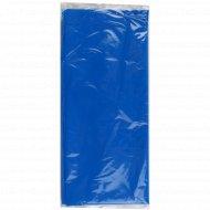 Скатерть одноразовая синяя, 110х140 см, 1 шт.
