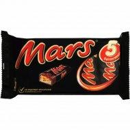 Шоколадный батончик «Mars» с нугой и карамелью, 5 х 40.5 г.