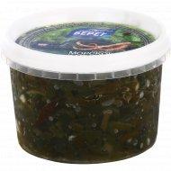 Салат из морской капусты с кальмаром в уксусно-масляной заливке, 250г.