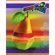 Тетрадь «Веселые фрукты» в клетку, А5, 96 л.