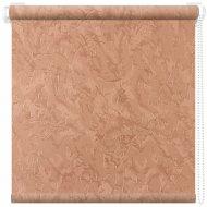 Рулонная штора «АС Март» Крисп, лососевый, 78х175 см
