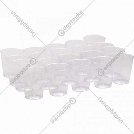 Одноразовые стопки «Кристалл», 40 мл, 20 шт.