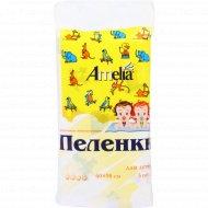Пеленки одноразовые впитывающие для детей 60х90 см, 5 шт.
