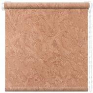Рулонная штора «АС Март» Крисп, лососевый, 85х175 см