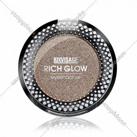 Тени компактные для век «Luxvisage» rich glow, 8 тон, 2 г.