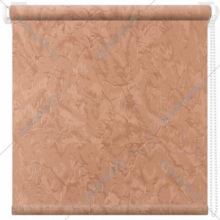 Рулонная штора «АС Март» Крисп, лососевый, 90х175 см